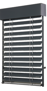 raffstore aussenjalosien z 90 evofenster aluminium fenster. Black Bedroom Furniture Sets. Home Design Ideas