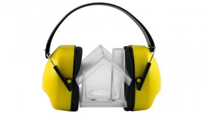 Lärmschutz mit Fenstern