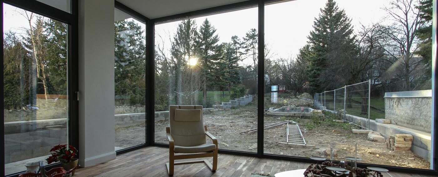 referenz haus zubau und aluminium fenster evofenster blog. Black Bedroom Furniture Sets. Home Design Ideas