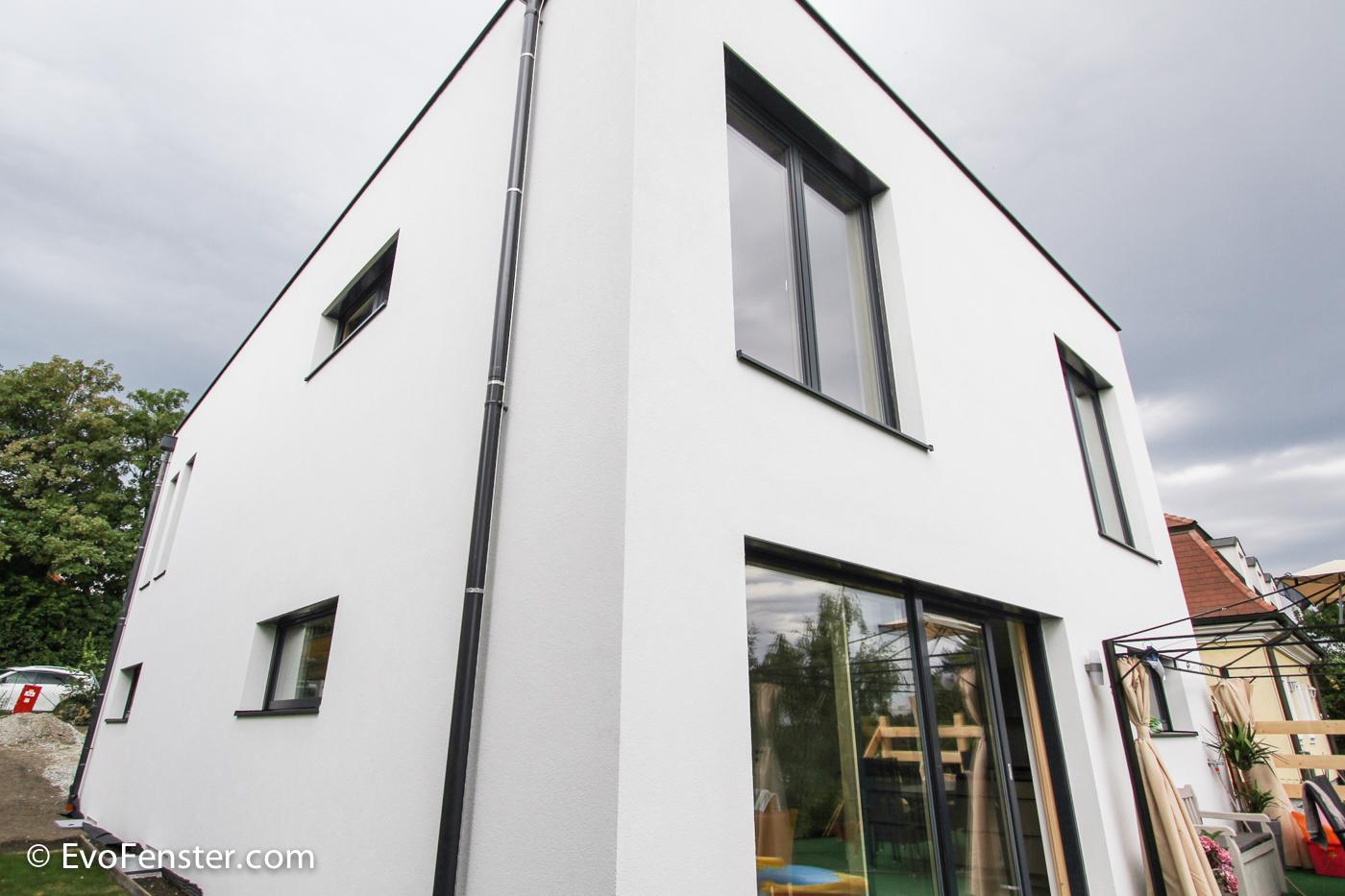 Referenz: Neubau in Brunn am Gebirge, NÖ - EvoFenster Blog