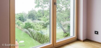 Bodentiefe Fenster, französische Fenster