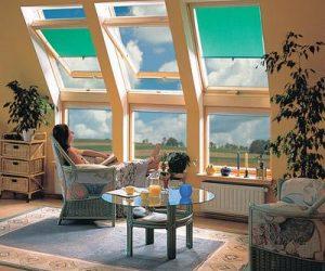 wohnen unterm dach was tun wenn die r ume zu dunkel sind evofenster aluminium fenster. Black Bedroom Furniture Sets. Home Design Ideas